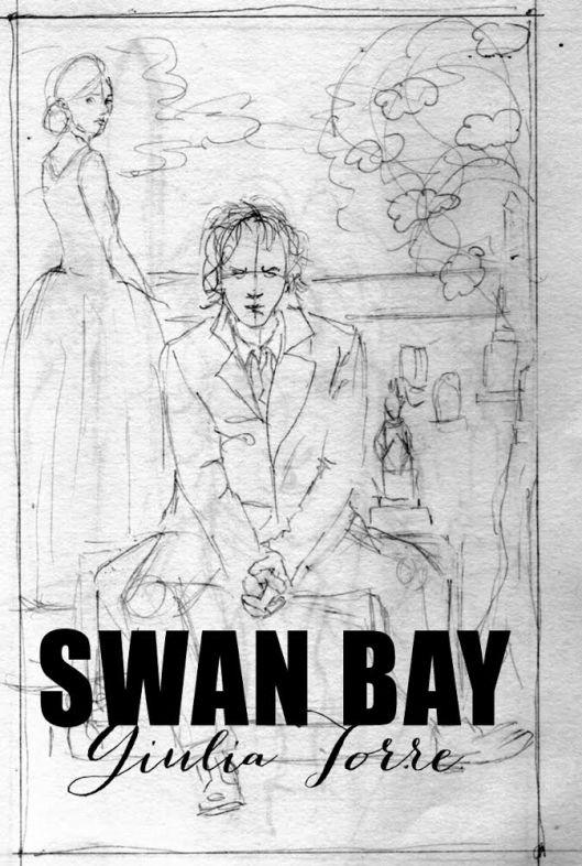 Swan Bay sketch Giulia Torre Longbluestraw